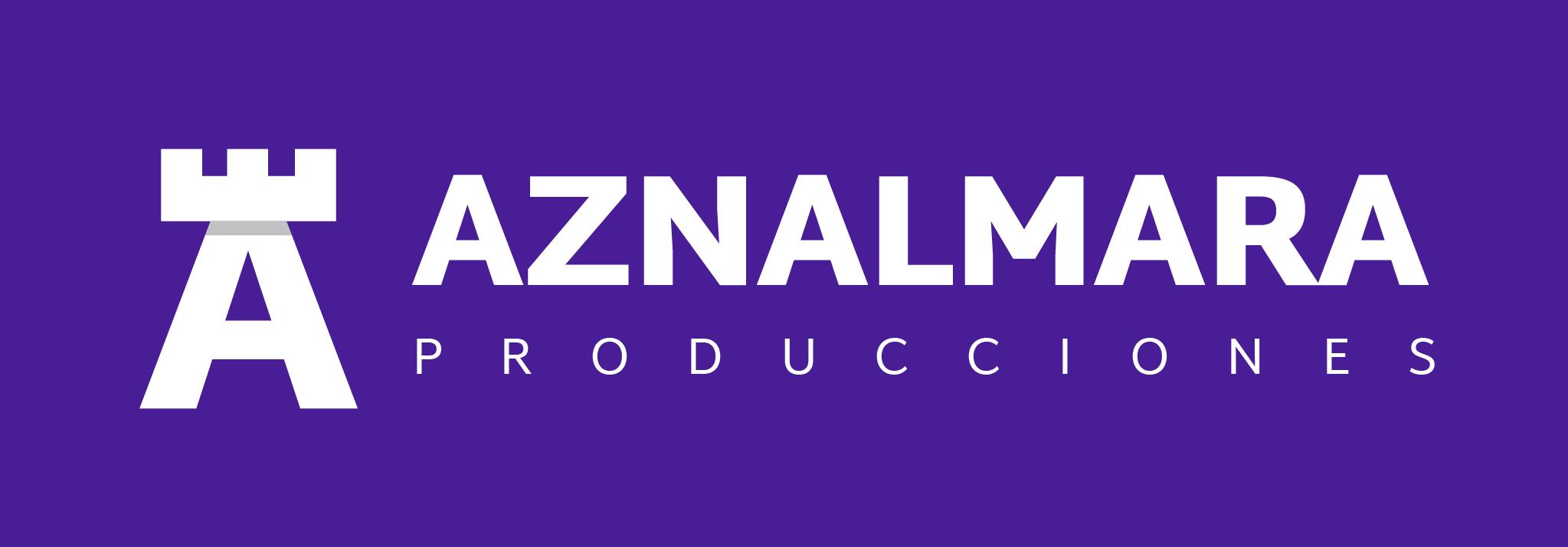 LOGO_AZNALMARA®_PRODUCCIONES_BLANCO_FONDO_MORADO_IZQDA