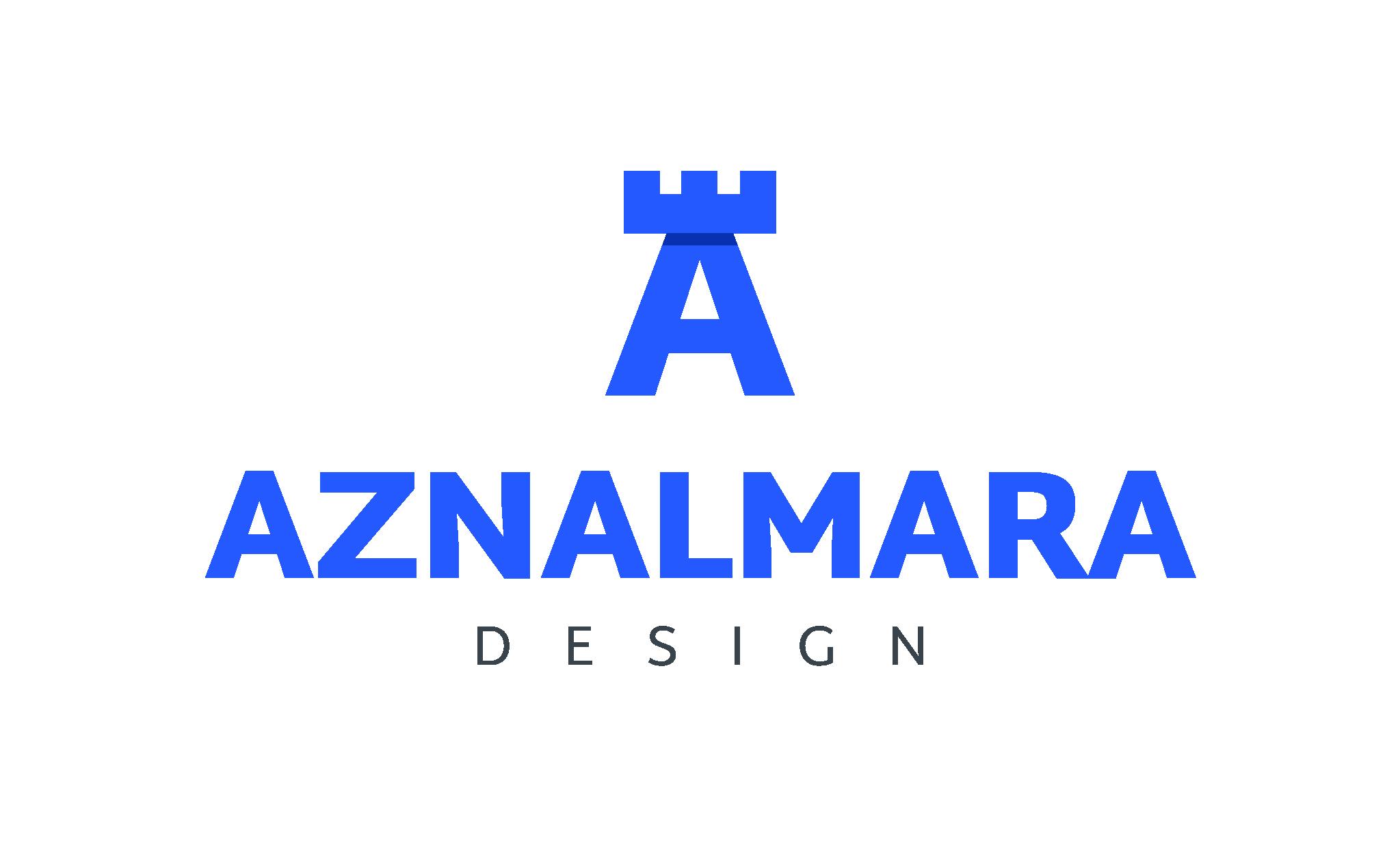LOGO_VERTICAL_AZNALMARA®_DESIGN_AZUL_FONDO_TRANSPARENTE