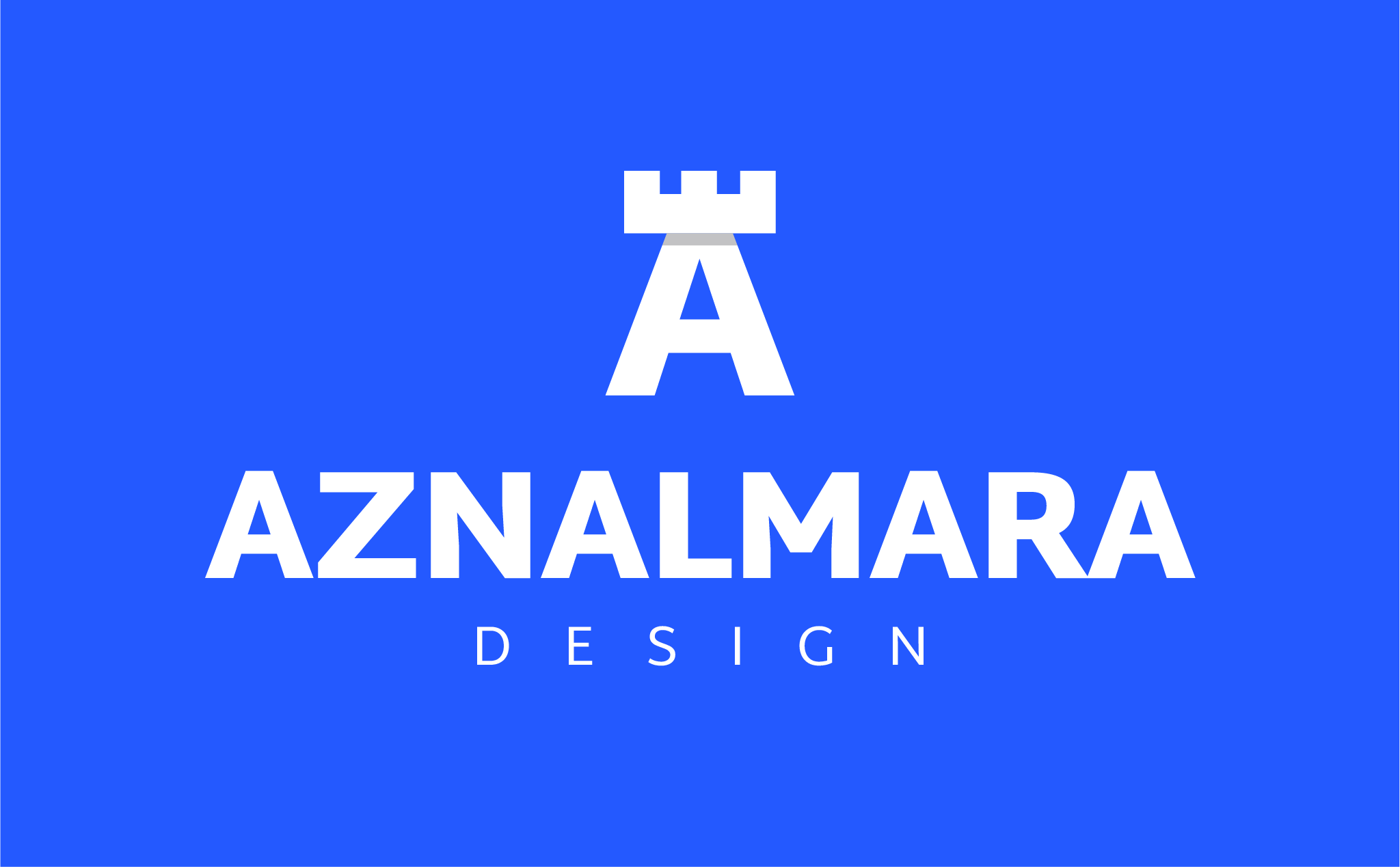 LOGO_VERTICAL_AZNALMARA®_DESIGN_BLANCO_FONDO_AZUL