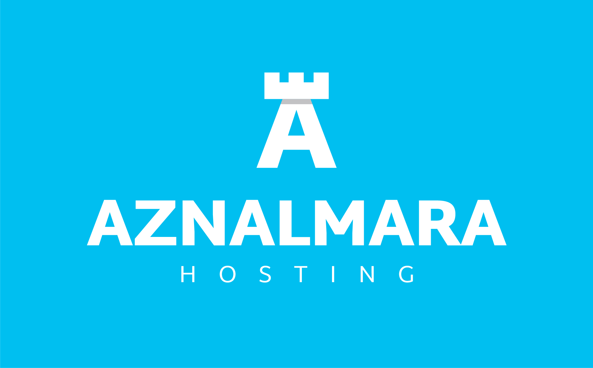 LOGO_VERTICAL_AZNALMARA®_HOSTING_BLANCO_FONDO_AZUL