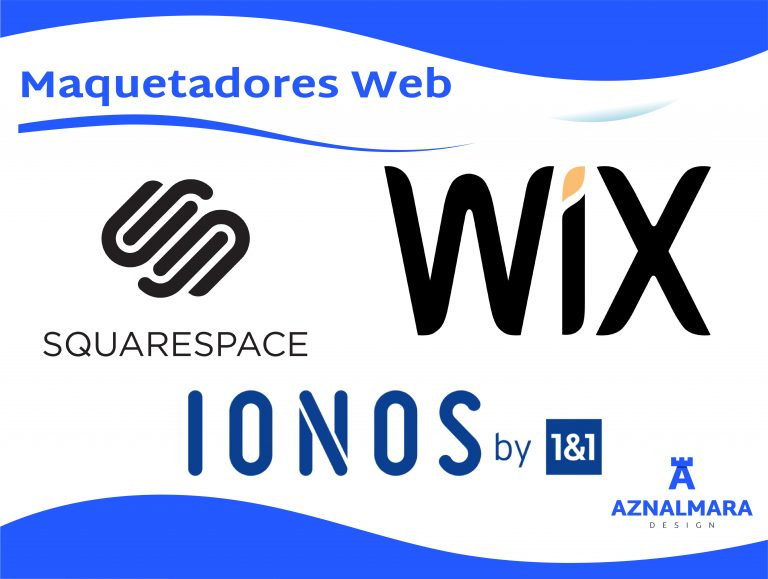 WIX, IONOS My Website, Squarespace y similares